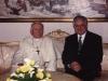 sa prvim hrvatskim predsjednikom dr. Franjom Tuđmanom